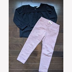 Zara outfit pants and top